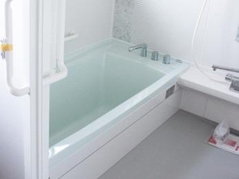 リフォームしていただいたお風呂がすごく気持ちよく、満足しています。
